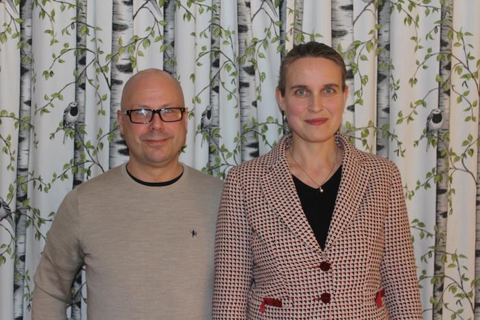 Jon Julius Sandal og Ingrid-Johanne Nettum topper De Grønnes liste til Grorud bydelsutvalg.