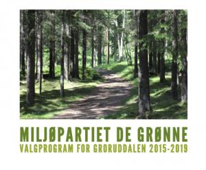 Miljøpartiet De Grønnes Groruddalsprogram 2015-2019